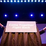 Vermont senator Bernie Sanders speaks during a rally at the Verizon Theater on Thursday, April 20, 2017, in Grand Prairie, Texas. Sanders, the runner-up in the 2016 Democratic contest for pr ...