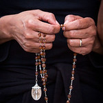 Cecila Rangel prays the rosary as Ppro-life advocates hold an annual Good Friday vigil outside the Southwestern Women?s Surgery Center on Friday, April 14, 2017, in Dallas. (Smiley N. Pool ...